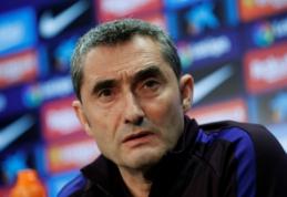 """E. Valverde: """"Abi komandos žaidė uždaras rungtynes"""""""