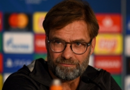 """J. Kloppas: """"Taip ir galvojau, kad žaisime su viena iš Madrido komandų"""""""