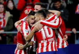 """""""Atletico"""" grįžo į pergalių kelią Ispanijos pirmenybėse"""