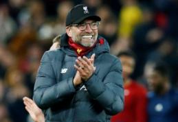 """Oficialu: J. Kloppas pasirašė naują kontraktą su """"Liverpool"""""""