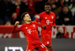 """ČL: """"Bayern"""" dar kartą įveikė """"Tottenham"""", """"Atletico"""" žengė tolyn"""