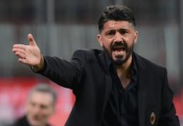 """Napoli"" prezidentas svarsto apie G. Gattuso kandidatūrą"