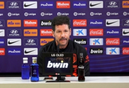 """Svarbų mūšį su """"Barcelona"""" pasitinkantis D. Simeone: """"Felixas žais nuo pirmų minučių"""""""