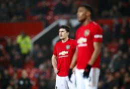 """""""Man Utd"""" kapituliavo mače su """"Burnley"""", """"Tottenham"""" palaužė """"Norwich"""""""