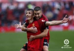 """""""Mallorca"""" skėlė antausį """"Valencia"""" ekipai, """"Real Betis"""" sutriuškino """"Real Sociedad"""""""