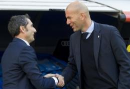 """Z. Zidane'as užjautė E. Valverde: """"Keletas blogų rungtynių ir jau norima permainų"""""""