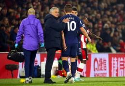 "J. Mourinho: ""Kane'as šį sezoną gali nebežaisti"""