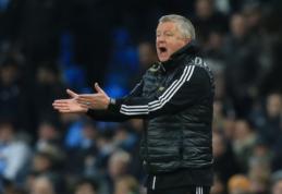"""Oficialu: """"Sheffield United"""" pratęsė kontraktą su vyriausiuoju treneriu"""
