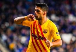 """L. Suarezas – geriausias gruodžio mėnesio žaidėjas """"La Liga"""" pirmenybėse"""