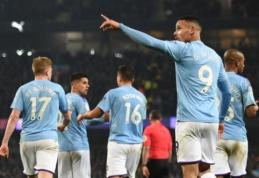 """G. Jesuso dublis nulėmė pergalę prieš """"Everton"""", D. Moyesas grįžo aukšta nata"""
