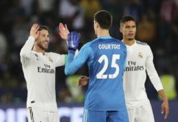 """""""Real"""" – geriausią žaidimą gynyboje demonstruojanti Europos komanda"""