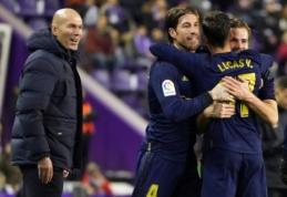 """""""Real"""" palaužė varžovus ir tapo vienvaldžiu """"La Liga"""" lyderiu"""