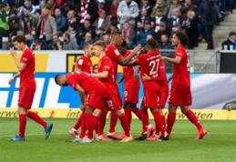 """Bayern"" pervažiavo ""Hoffenheim"", BVB palaužė ""Freiburg"""
