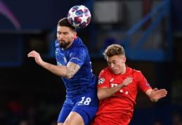 """O. Giroud pesimistiškai vertina """"Chelsea"""" šansus atsitiesti serijoje su """"Bayern"""""""