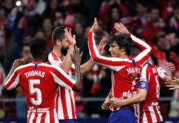 """Sparnus užsiauginęs """"Atletico"""" namuose įveikė """"Villarreal"""""""