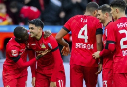 """""""Bayer"""" ir """"Wolfsburg"""" šventė užtikrintas pergales Vokietijoje"""