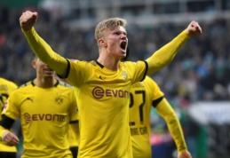 """""""RB Leipzig"""" ir BVB šventė pergales Vokietijoje"""