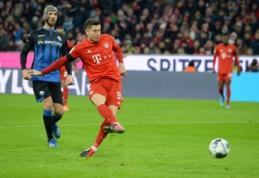 """""""Bayern"""" vos išnešė sveiką kailį mače su """"Paderborn"""""""