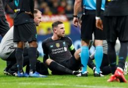 """""""Liverpool"""" maždaug tris savaites versis be J. Hendersono"""