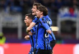 "ČL: ""Atalanta"" parbloškė ""Valencia"", ""Tottenham"" krito po T. Wernerio įvarčio"