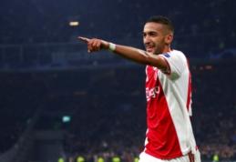 """Olandų spauda: """"Chelsea"""" ir """"Ajax"""" pasiekė susitarimą dėl H. Ziyecho"""