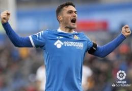"""""""Getafe"""" sutriuškino """"Valencia"""" ir pratęsė pergalių seriją iki keturių"""