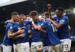 """""""Everton"""" įrodė pranašumą prieš """"Crystal Palace"""", """"Brighton"""" ir """"Watford"""" išsiskyrė taikiai"""