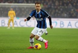 """A. Conte liko patenkintas pirmosiomis C. Erikseno rungtynėmis """"Serie A"""""""