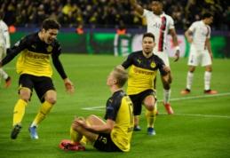 """PSG ir """"Borussia"""" rungtynės Paryžiuje vyks už uždarų durų"""