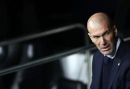 """Z. Zidane'as po antausio Sevilijoje: """"Sužaidėme blogiausias sezono rungtynes"""""""