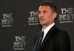 """P. Maldini pyksta ant """"Milan"""" – klubas nuslėpė svarbius planus"""