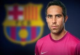 """Oficialu: Į """"Barcelona"""" vartus stoja C.Bravo"""