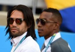"""""""Real"""" L.Suarezo nebenori - klubą po pasaulio čempionato papildys R.Falcao?"""