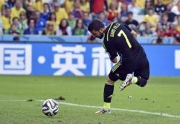 Su Ispanijos rinktine atsisveikinantis D.Villa: norėčiau rinktinėje žaisti iki 55 metų