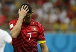 """C.Ronaldo: """"Niekada nesakiau, kad tokia vidutinė komanda gali tapti čempione"""""""
