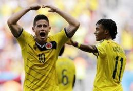 Japonija neįveikė dešimtyje žaidusių graikų, Kolumbija - aštuntfinalyje (VIDEO)