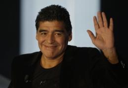 """Legendinis Diego Maradona: """"Tiki-Taka"""" mirė"""