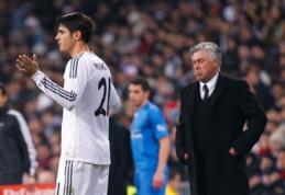 """C.Ancelotti patvirtino, kad A.Morata paliks """"Real"""" komandą"""