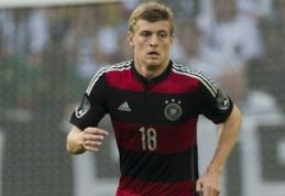 """""""Real"""" bandys į savo gretas prisivilioti """"Bayern"""" saugą T.Kroosą"""