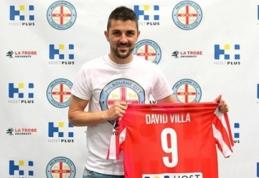 """""""New York City"""" klubui priklausantis D.Villa iki 2015 metų žais Australijoje"""
