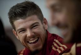 """""""Sevilla"""" klubas patvirtino """"Liverpool"""" susidomėjimą gynėju A.Moreno"""
