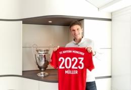 "T. Mulleris pratęsė sutartį su ""Bayern"""