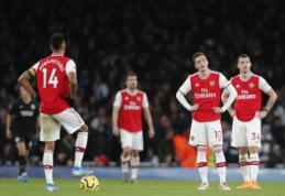 """""""Arsenal"""" baigė kovas dėl šeštosios pozicijos"""