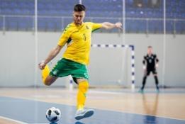 Oficialu: Lietuvoje vykti turėjęs pasaulio salės futbolo čempionatas nukeltas į 2021-uosius