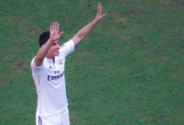 """Kolumbijos spauda: """"Atletico"""" ir """"Real"""" baigia derybas dėl J. Rodriguezo"""
