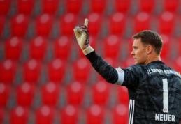 """Oficialu: M. Neueris po ilgų derybų susiejo ateitį su """"Bayern"""""""