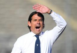 """S. Inzaghi pasirašys naują kontraktą su """"Lazio"""""""