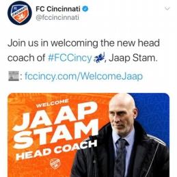 """MLS klubai nepasigailėjo J. Stamo nuotrauką supainiojusios """"Cincinnati"""" ekipos"""