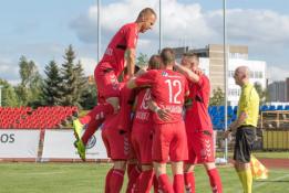 """LFF taurės aštuntfinalio rungtynėse – užtikrinta """"Panevėžio"""" pergalė"""