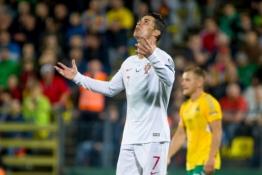 LFF nesudeda ginklų – netenkina C. Ronaldo fanui skirta menka bauda